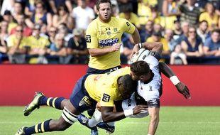 Un duel lors de Clermont - Toulon