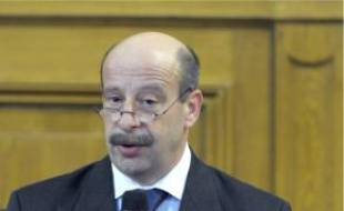 Le procureur Patrick Poirret, hier.