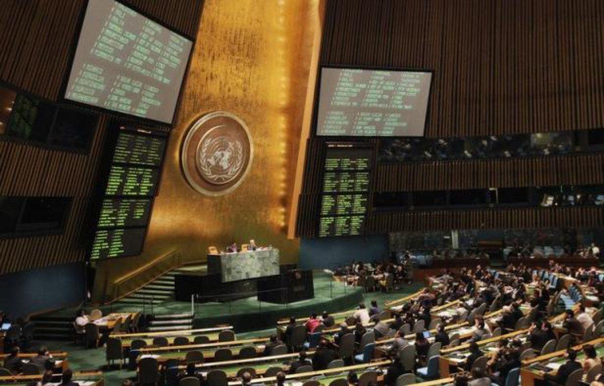 """La France organisera une réunion ministérielle au Conseil de sécurité de l'ONU le 30 août """"essentiellement consacrée à l'examen de la situation humanitaire en Syrie et dans les pays voisins"""", a confirmé mercredi le ministère des Affaires étrangères. – Mario Tama afp.com"""