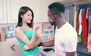 Une publicité raciste made in China