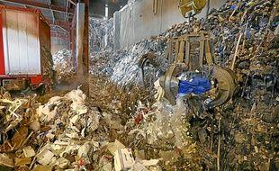 A l'usine d'incinération du Rohrschollen, on travaille aussi à réutiliser l'énergie dégagée par les déchets.