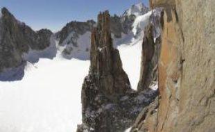 Le Grand Capucin, sommet majeur des grimpeurs, fait l'objet d'un film présenté vendredi.