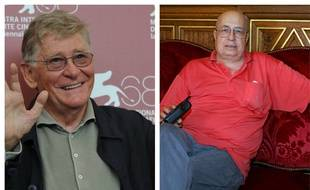 Montage. A droite Ermanno Olmi, à gauche Pierre Rissient
