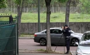 Un contrôle de police en 2012 à Paris
