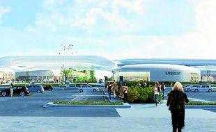 Porté par la Compagnie de Phalsbourg, le centre commercial devrait ouvrir ses portes vers 2021.