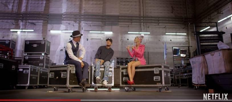 Capture écran du teaser de l'émission.