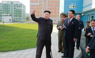 Le leader nord-coréen, Kim Jong-Un, dans une photo non datée fournie par l'agence KCNA le 14 octobre 2014.