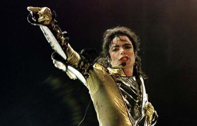 Michael Jackson, lors de sa tournée mondiale «HIStory world tour», à Vienne en juillet 1997.