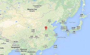 Province du Henan en Chine. Capture d'écran.