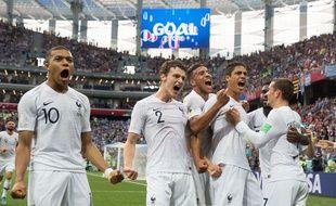 Les Bleus ont sorti l'Uruguay en quart de finale de la Coupe du monde 2018.