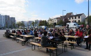 En 2015, la première Dictée des cités à Strasbourg avait attiré une centaine de personnes à Hautepierre.
