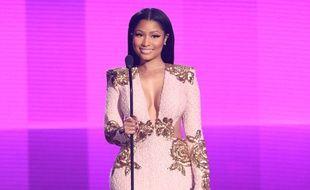Nicki Minaj aux American Music Awards à Los Angeles le 22 novembre 2015