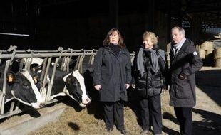 La candidate Europe-Ecologie-les-Verts (EELV) à la présidentielle Eva Joly a accusé vendredi les Safer (société d'aménagement foncier et d'établissement rural), sous tutelle de l'Etat, de contribuer à la disparition des terres agricoles.