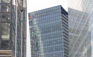 Le siège de Mazars à La Défense, près de Paris, photographié le 1er février 2010