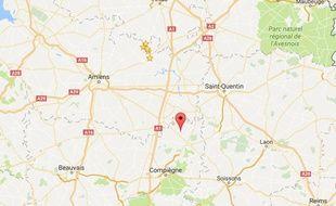 La commune de Catigny, dans l'Oise.
