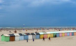 Une plage de Berck-sur-mer, le 5 août 2013.