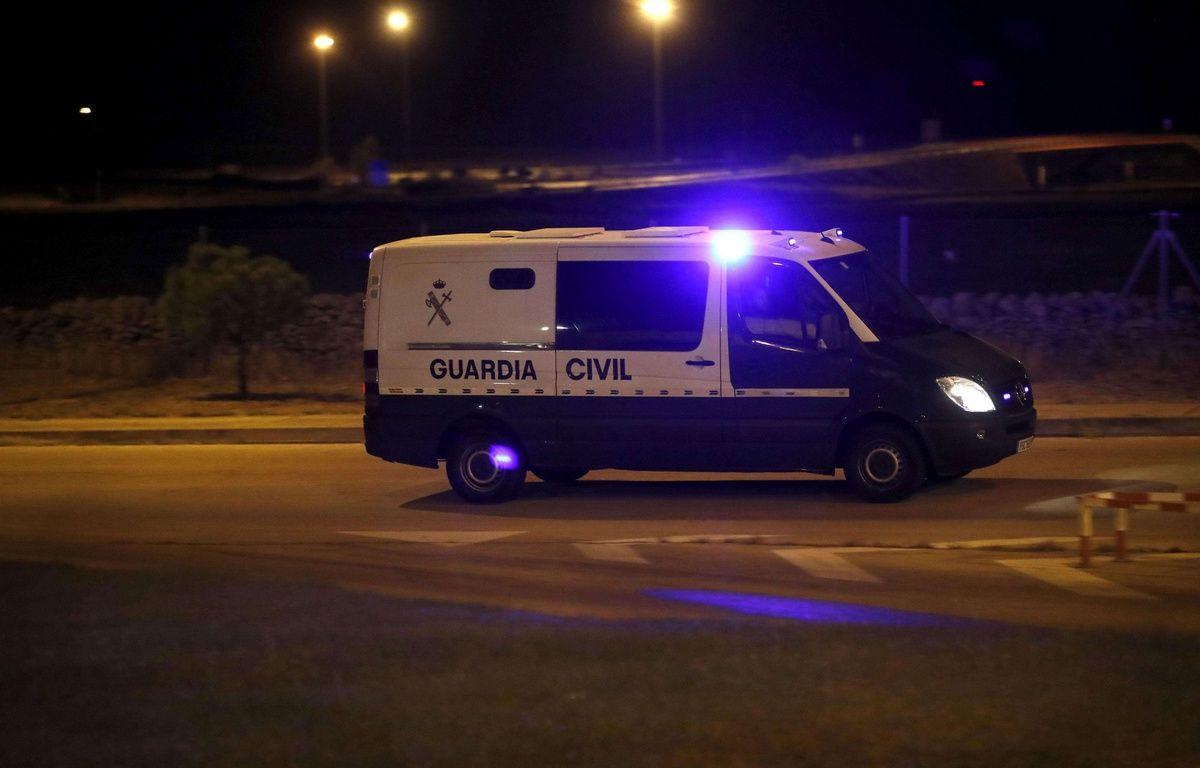 Les dirigeants indépendantistes Jordi Cuixart et Jordi Sanchez ont été arrêtés par la police espagnole le 16 octobre 2017. – JuanJo Martin/EFE/SIPA