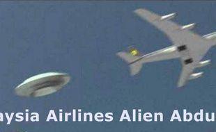 Les théories du complot sur la disparition du Boeing sont nombreuses.