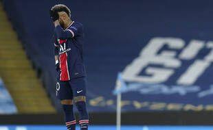 Neymar est passé totalement à côté de son match mardi.