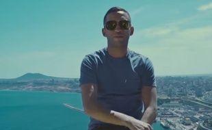 Le rappeur Mister You dans le clip de «Gambetta»