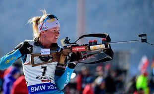 Victime d'un malaise, Marie Dorin a dû abandonner la course