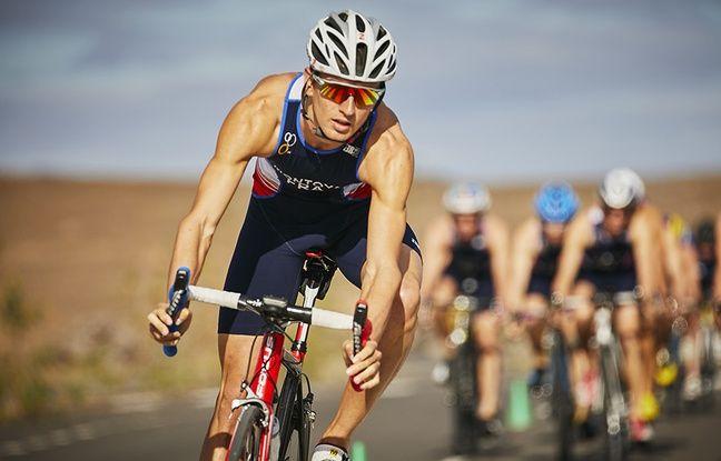L'Azuréen Raphaël Montoya est membre de l'équipe de France de triathlon.