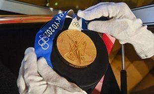 Les médailles olympiques françaises, denrées trop rares selon le président du CIO Thomas Bach. Illustration.