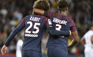 Kimpembe et Rabiot, les symboles de la formation parisienne.