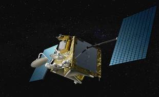 900 minisatellites comme celui-ci doivent former d'ici 2027 la constellation OneWeb.