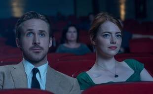 Ryan Gosling et Emma Stone dans La La Land de Damien Chazelle