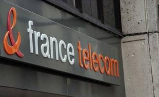 Le logo de France Telecom.