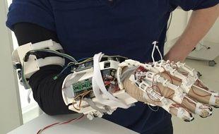 Le 3e prototype d'exosquelette conçu par l'ISEN
