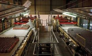 L'usine Coca-Cola de Bierne-Socx produit 400 millions de canettes par an.