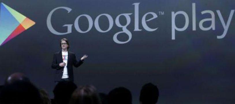 Le logo de Google Play (illustration).