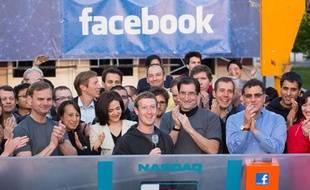 L'entrée en Bourse de Facebook, le 18 mai 2012.