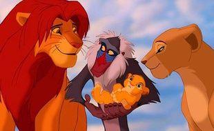 Image extraite du «Roi Lion» de Disney.
