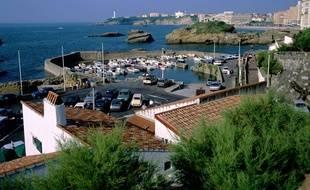 Le littoral aquitain, ici sur la côte basque.