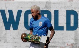 Neymar au Brésil