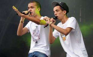 Le duo de rappeurs français Bigflo & Oli.