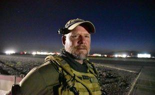 Le journaliste américain David Gilkey photographié à Kandahar le 29 mai 2016.