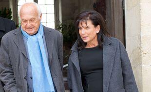 Pierre Nora et Anne Sinclair à Blois, en 2013.