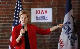 La candidate démocrate Elizabeth Warren, le 1er mars 2019 dans l'Iowa.