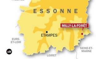 Enlèvement d'une jeune femme à Milly-la-Forêt