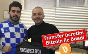 Le club turc de Harunustaspor est le premier à avoir réalisé un (petit) transfert en bicoin, en janvier 2018.