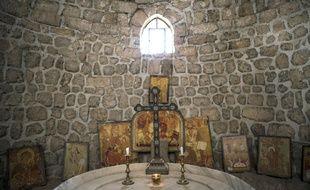 Le monastère de Saint Takla à Maaloula, en Syrie, en avril 2015.