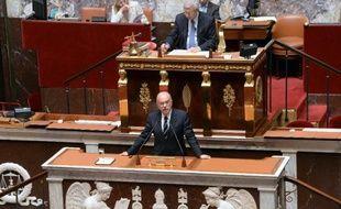 Le ministre de l'Intérieur Bernard Cazeneuve à l'Assemblée nationale le 16 juillet 2014