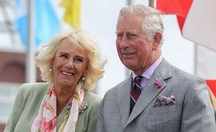 Le prince Charles et sa femme Camilla en visite au Canada