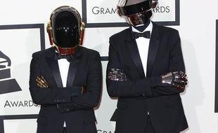 Les Daft Punk aux Grammy Awards
