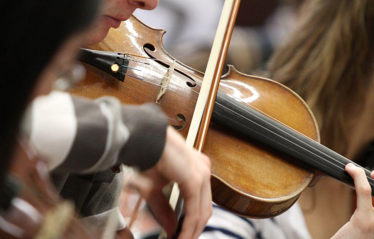 Lille, le 26 avril 2011. Illustration de musiciens lors d'un stage d'improvisation de jazz au conservatoire. – M.LIBERT/20 MINUTES