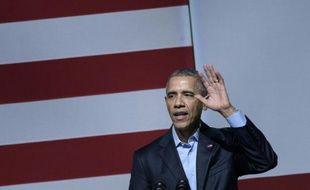 Le président américain Barack Obama, le 10 octobre 2015 à San Francisco